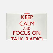 Keep Calm and focus on Talk Radio Magnets