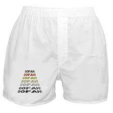 BEAR PRIDE COLORS-OOFAH! Boxer Shorts