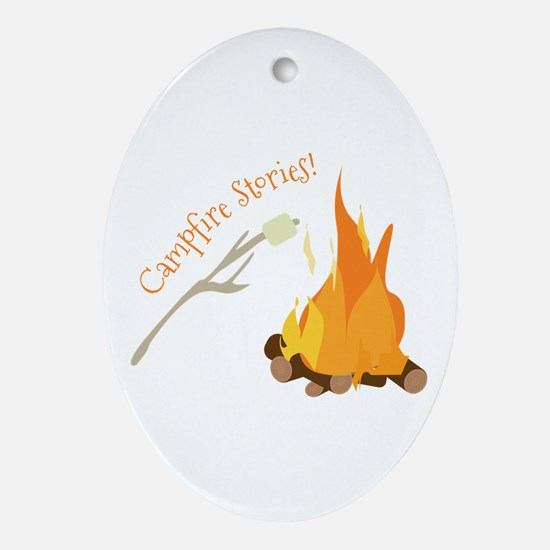Campfire Stories! Ornament (Oval)