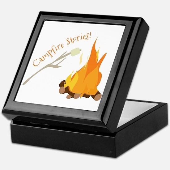 Campfire Stories! Keepsake Box