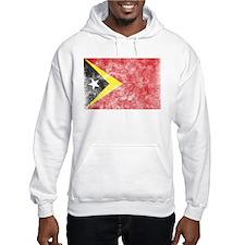 Vintage East Timor Flag Hoodie