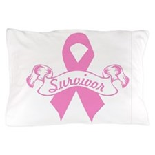 Cute Male breast cancer awareness Pillow Case