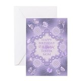 Birthday foster mom Greeting Cards