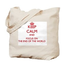 Cute 2012 end of the world Tote Bag