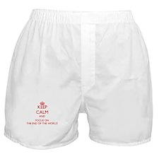 Unique End world Boxer Shorts