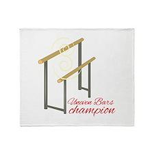 Uneven Champion Throw Blanket