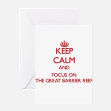 Keep Calm and focus on The Great Barrier Reef Gree