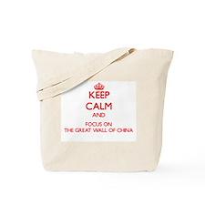 Unique I love china Tote Bag