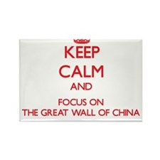 Keep Calm and focus on The Great Wall Of China Mag