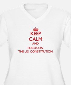 Keep Calm and focus on The U.S. Constitution Plus