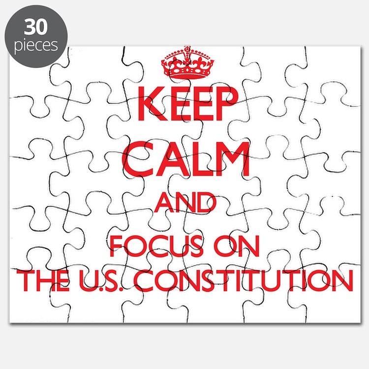 Cute Us constitution Puzzle