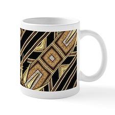 Art Deco Black Gold 1 Mugs