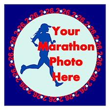 Marathon Runner Photo Invitations