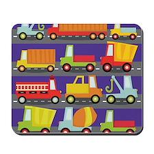 Trucks On The Highway Mousepad