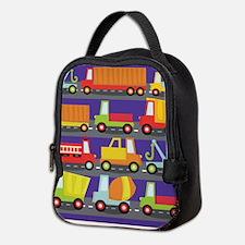 Trucks On The Highway Neoprene Lunch Bag