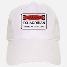Attitude Ecuadorian Baseball Baseball Cap