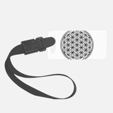 Flower of Life Luggage Tag