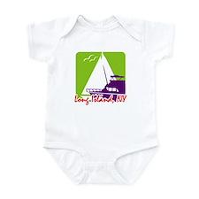 Sailing Long Island Infant Bodysuit