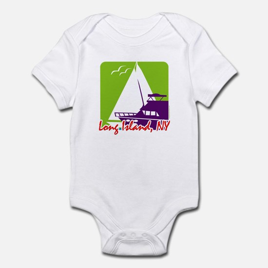 Sailing Long Island Infant Bodysuit