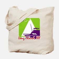 Sailing Long Island Tote Bag