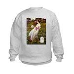 Windflowers & Bolognese Kids Sweatshirt