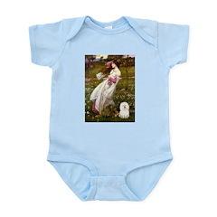Windflowers & Bolognese Infant Bodysuit