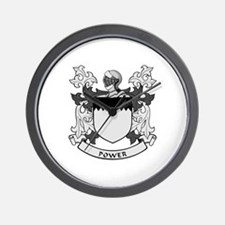 POWER 2 Coat of Arms Wall Clock