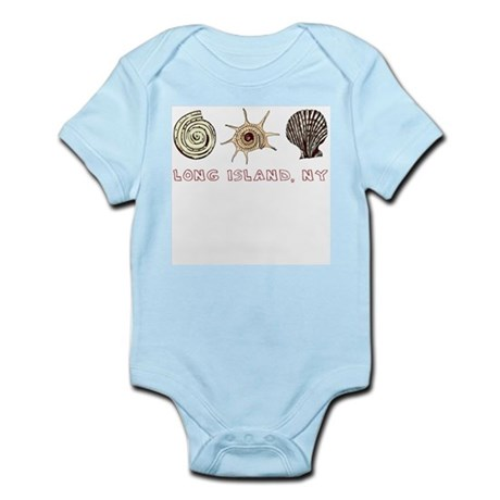Long Island Shells Infant Bodysuit