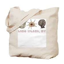 Long Island Shells Tote Bag