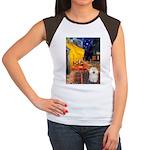 Cafe & Bolognese Women's Cap Sleeve T-Shirt