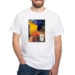 Cafe & Bolognese White T-Shirt