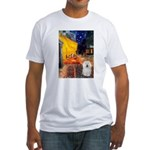 Cafe & Bolognese Fitted T-Shirt