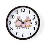 Little Piggy Clock