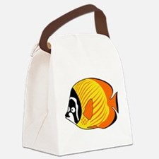 Funny Exotic Canvas Lunch Bag