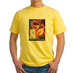 Mandolin Angel & Bolognese Yellow T-Shirt