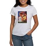 Mandolin Angel & Bolognese Women's T-Shirt