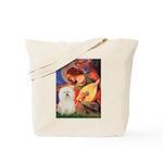 Mandolin Angel & Bolognese Tote Bag
