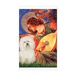 Mandolin Angel & Bolognese Sticker (Rectangle)