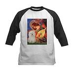 Mandolin Angel & Bolognese Kids Baseball Jersey