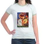 Mandolin Angel & Bolognese Jr. Ringer T-Shirt