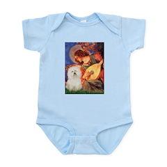 Mandolin Angel & Bolognese Infant Bodysuit