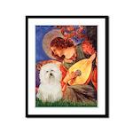Mandolin Angel & Bolognese Framed Panel Print