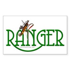 Ranger Sticker (Rect.)