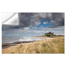 Bamburgh Castle; Northumberland, England Wall Decal