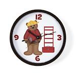 Construction Worker Clock