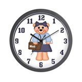 Mail carrier Wall Clocks