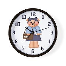 Postal Worker Clock
