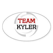 Kyler Oval Decal