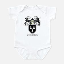 PORTER Coat of Arms Infant Bodysuit