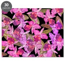 Orchid Flowers Puzzle